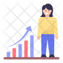 Business Growth Growth Chart Business Graph Icon