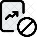 Growth Chart Ban Growth Chart Line Chart Icon