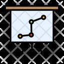 Growth Chart Presentation Icon