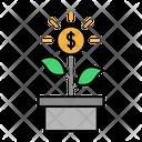 Growth Finance Growth Money Money Icon