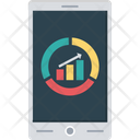 Growth Graph Mobile Graph Online Graph Icon