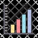 Growth Bar Chart Icon