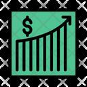 Growth Sales Marketing Icon