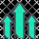 Arrow Growth Up Icon
