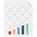 Progress Report Chart Finance Icon