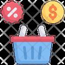 Internet Marketing Promotion Discount Icon