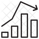 Graph Area Arrow Icon