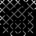Arrow Business Chart Icon