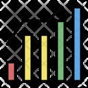 Graph Analytics Statistics Icon