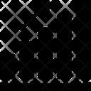 Seo Graph Growth Icon