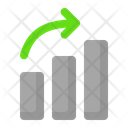 Up Growth Graph Icon