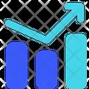 Growth Graph Trading Arrow Bar Chart Icon