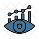 Growth Graph With Eye Icon
