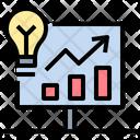 Creative Idea Growth Icon