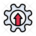 Growth Refinery Energy Icon