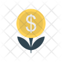 Growth Dollar Investment Icon