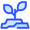 Space Sprout Plant Icon
