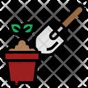 Plant Growth Shovel Icon