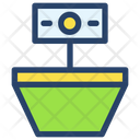 Growth Businessman Project Icon