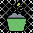 Pot Farm Agriculture Icon