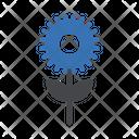 Growth Gear Setting Icon