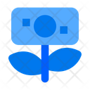 Growth Finance Plant Icon