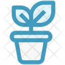 Business Growth Plant Investment Icon