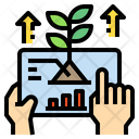 Plants Growth Hand Icon
