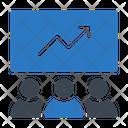 Presentation Graph Increase Icon
