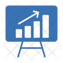 Growth Presentation Graph Icon