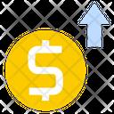 Growth Sales Revenue Icon