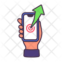 Business Growth Graph Icon