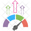 Growth Rate Business Icon