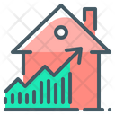 Growth Price Property Icon
