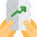 Growth Report Analytics Chart Growth Chart Icon
