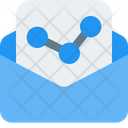 Growth Report Chart Document Icon