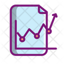 Growth Report Analysis Graph Growth Icon