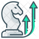 Innovation Growth Strategy Chess Icon