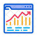 Growth Up Trade Icon