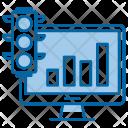 Growth traffic Icon