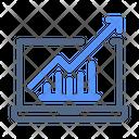 Growth Traffic Improvement Icon