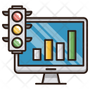 Growth traffic Icon