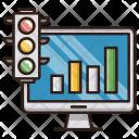 Growth Traffic Seo Icon