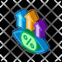Money Eye Growth Icon