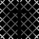 Grunge Cross Christian Icon