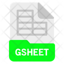 Gsheet file Icon