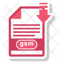 Gsm File Format Icon