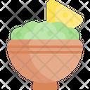 Guacamole Mexican Food Fast Food Icon