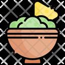 Guacamole Mexican Food Taco Icon