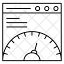 Guage Webmeter Speed Icon